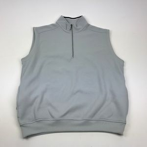 Callaway Golf Vest Size L Pullover Zipper Pockets